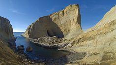 4. Cape Kiwanda, OR  <   With unique rock structures, dunes, sandy beaches, & gorgeous views.