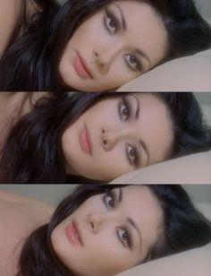 "- Edwige Fenech in ""Alle Farben der . - Make up - Fotoshooting Makeup Goals, Makeup Inspo, Makeup Inspiration, Makeup Tips, Hair Makeup, Makeup Vintage, Retro Makeup, 1970s Makeup, Vintage Makeup Tutorials"