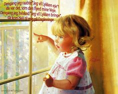 Pige i vinduet