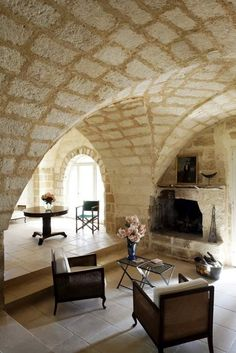 Martano villa rental - Lounge