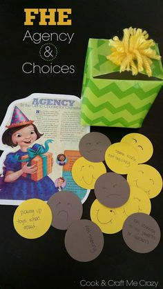 FHE Agency and Choices - lesson, activity and treat ideas!