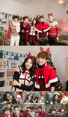 'Flower Boy Next Door' cast throws a Christmas party
