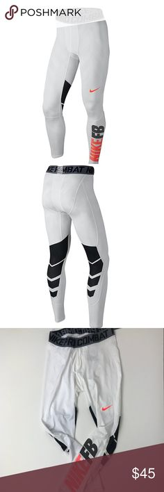 8f8e98cfff NWT Nike Pro Combat Hypercool Compression Leggings Brand new! Has some  minor flaws as shown
