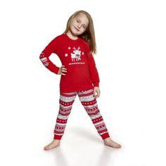 De Cornette Reindeer kinderpyjama van Corazonkids rood met getreepte broek. De Cornette kinderpyjama van CorazonKids met een getreepte broek is erg mooi en hip.. Het shirt heeft een leuke opdruk. De Cornette kinderpyjama van CorazonKids is van goede kwaliteit.