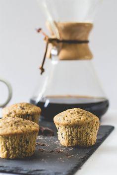 Coffee + Dark Chocolate Muffins — The Homemade Haus
