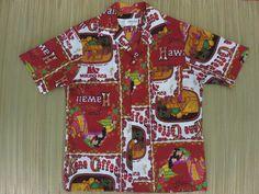 Your place to buy and sell all things handmade Aloha Shirt, S Shirt, Best Starbucks Coffee, Kona Coffee, Black Coffee Tables, Vintage Hawaiian Shirts, Vintage California, Oahu, Rainbow Colors