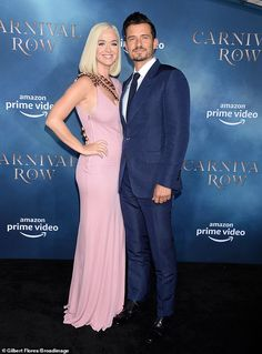 Katy Perry & Orlando Bloom at Carnival Row TV show premiere in Los Angeles. Katy Shows Her Curves in Tight Sexy Dress Orlando Bloom, Katy Perry, Future And Drake, Welcome Baby Girls, Post Baby Body, Z Cam, Baby Girl Names, Celebs, Celebrities