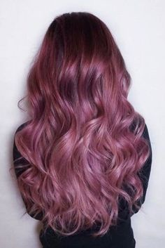 28 Trendy Lilac Hair Shades Chocolate Lilac Hair Ideas is the Delicious New Color Trend ★ See more: Lilac Hair, Hair Color Purple, Cool Hair Color, Ombre Hair, Purple Ombre, Blonde Ombre, Pink Purple Hair, Hot Pink Hair, Hot Hair Colors