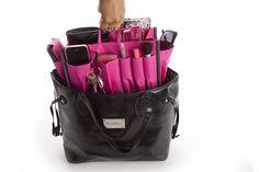 DIY wedding bag organizer
