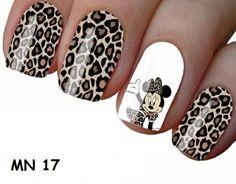 Leopard Nails, Disney Nails, Cute Acrylic Nails, Pedicures, Gorgeous Nails, Nail Inspo, Nail Colors, Nail Designs, Nail Polish