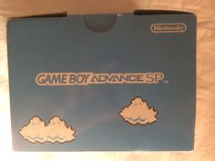 Game Boy Advance SP Classic NES Edition box up.