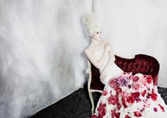 Versailles-Themed Couture Captures - Glassbook Magazine's Latest Story Tributes Marie Antoinette (GALLERY)