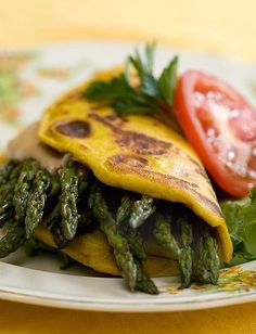 Some great vegan recipes and links here - Tofu Omelet by Post Punk Kitchen Veggie Recipes, Whole Food Recipes, Vegetarian Recipes, Cooking Recipes, Healthy Recipes, Vegan Foods, Vegan Dishes, Vegan Omelette, Egg Omelet