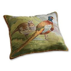 pheasant pillow