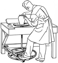 The potter and the clay coloring pages ~ Feed My Sheep Coloring Page   Sunday School   Pinterest ...