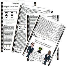 Exercices lecture / écriture : Mission impossible, lecture compréhension, phrase, possible, impossible, ce1
