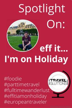 Eff it, I'm on holiday is all about sharing, a passion for travel, food, drinks and finding new places around the world. An inspiration for all travelers.
