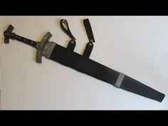 This is a tutorial on how to make an easy foam sheath (scabbard) for cardboard or wooden swords. It comes out great and looks terrific.