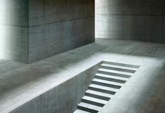 Gioberto Noro is the collective name of Turin-based photographers duo, Sergio… Minimalist Architecture, Futuristic Architecture, Architecture Details, Interior Architecture, Futuristic Design, Stair Lighting, Exterior Lighting, Concrete Structure, Concrete Forms