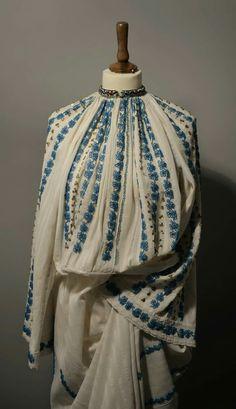 Folk Costume, Costumes, Romania, Colour, Popular, Country, Blue, Dresses, Fashion