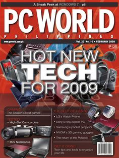 PCWorld Philippines February 2009 cover