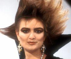 Punk de luxe: Gloria von Thurn und Taxis 1986 mit ihrer berühmten Löwenmähne