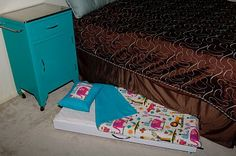 Toddler Trundle Bed Tutorial. I can see this coming in very handy once my little one is out of her cot.