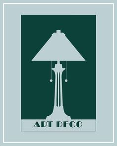Art Deco poster by balancedpersonality