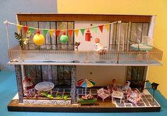 70er VERO Haus mit Lampions   Flickr - Photo Sharing!
