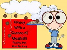 Cloudy With a Chance of Meatballs Reading Unit product from Ideas by Jivey on TeachersNotebook.com