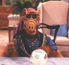 Alf o eteimoso. Deixava de almoçar os domingos para assistir!