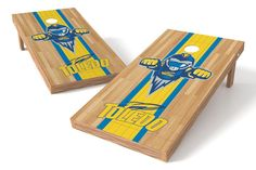 Toledo Rockets Cornhole Board Set - Court (w/Bluetooth Speakers)
