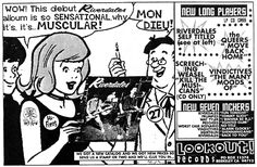 LOOKOUT RECORDS: Lookout Fanzine Ads