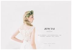 Jenn Tai Photo Artistry Homepage designed by Ribbons of Red. Web Design, Homepage Design, Graphic Design, Seattle Wedding Venues, Fashion Branding, Wedding Designs, Lady, Style Guides, Branding Design
