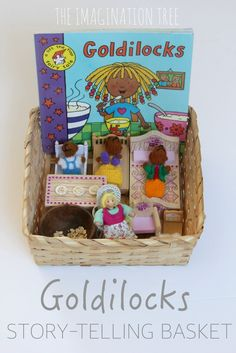 Goldilocks Story-telling Basket