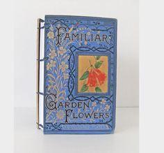Flower Notebook  Garden journal  Gardener's by PeonyandThistle