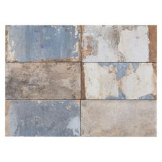 San Juan Azul Porcelain Tile - 4in. x 8in. - 100198829 | Floor and Decor
