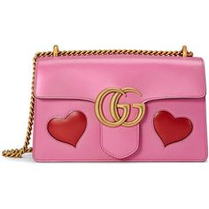 Gucci GG Marmont Medium Heart Shoulder Bag