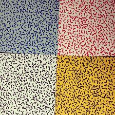 Original Memphis laminate samples from Abet Laminati   Flickr - Photo Sharing!