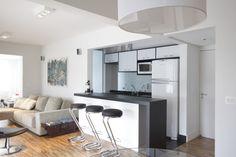 decoracao de apartamentos pequenos 9 Cozinhas Americanas em apartamentos e casas pequenas