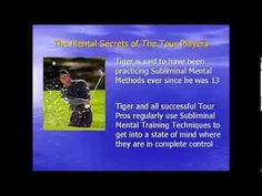 Golf Mental Training | Amazing Golf Mind Mental Audios Tips