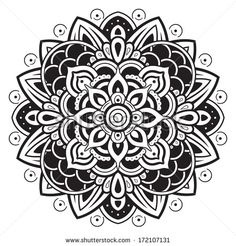 Flower mandala, mandala art, mandala doodle, mandala pattern, mandala d Mandala Doodle, Mandala Art, Geometric Mandala Tattoo, Henna Mandala, Mandalas Painting, Mandalas Drawing, Mandala Pattern, Mandala Design, Pattern Art