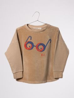 Bobo Choses  Sweatshirt Velvet Glasses