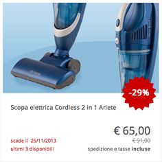 Ariete scaldavivande elettrico scald trovaprezzi deals for Ariete cordless sweeper