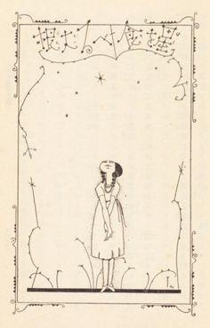 Illustration from the 1924 children's book The Dreams of Dr. Plague (ペスト博士の夢) by 50 Watts fave Takeo Takei Children's Book Illustration, Graphic Design Illustration, Japan Art, Art Lessons, Illustrators, Book Art, Drawings, Artwork, Prints