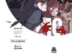Preview: Toil and Trouble #1 (of 6),   Toil and Trouble #1 (of 6) Story: Mairghread Scott Art: Kelly & Nichole Matthews Cover: Kyla Vanderklugt, Meredith McClaren & Haemi Jan...,  #All-Comic #All-ComicPreviews #Archaia #Boom!Studios #Comics #HaemiJang #Kelly&NicholeMatthews #KylaVanderklugt #MairghreadScott #MeredithMcClaren #previews