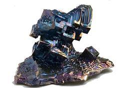 Bismuth Crystal Healing Energy Metaphysical by MetalAndMarble