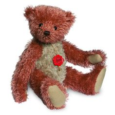 Hermann 16629 Vintage Bear red-beige