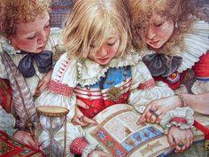 Christmas Readings by Yvonne Gilbert