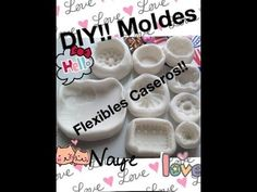 DIY!! Moldes flexibles caseros!! - YouTube
